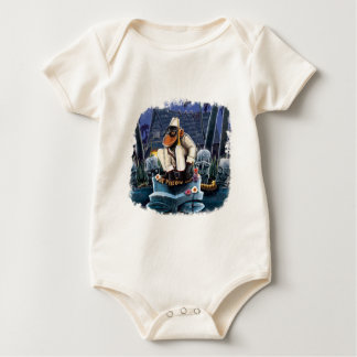 Cosmo At The Moon Palace Baby Bodysuit
