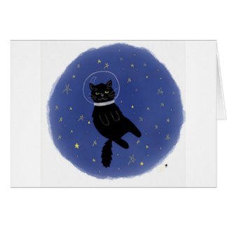 Cosmo Cat Birthday Card. Card