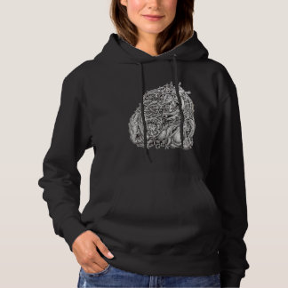 Cosmographic Head, by Brian Benson Hoodie
