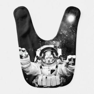 Cosmonaut Cat Bib