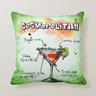 Cosmopolitan Throw Pillow