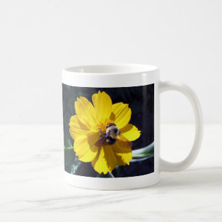 Cosmos Attracts Bumblebee Mugs