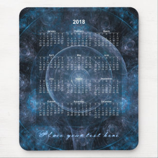 Cosmos Background 001 - Calendar 2018 Mouse Pad