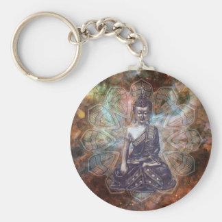 Cosmos Buddha Keychain