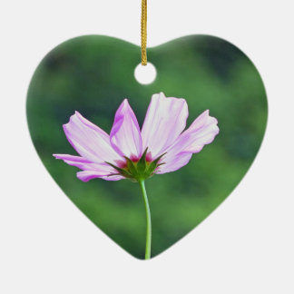Cosmos Ceramic Heart Ornament