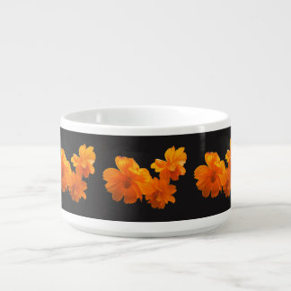 Cosmos Charm Black/White Chili Bowl