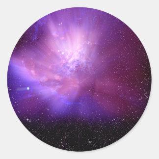 Cosmos Classic Round Sticker