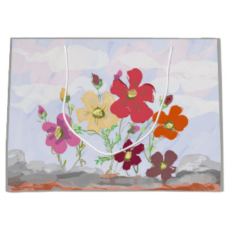 Cosmos Flowers Gift Bag