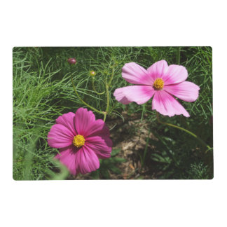 Cosmos Flowers Placemat Laminated Placemat