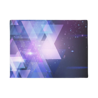 Cosmos Galaxy Graphic Print Door Mat