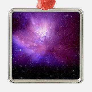 Cosmos Metal Ornament