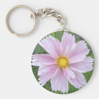 Cosmos - Palest of Pinks --- Keychain