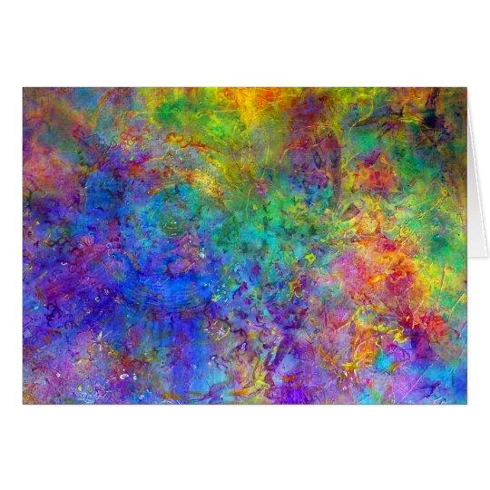 """""""Cosmos"""" Rainbow Card"""