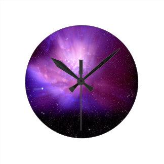 Cosmos Round Clock