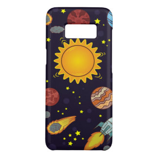 Cosmos Samsung Galaxy S8, Barely There Phone Case