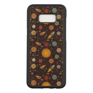 Cosmos Samsung Galaxy S8+ Slim Cherry Wood Case