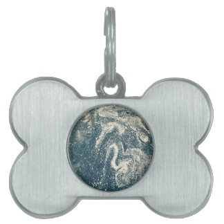 Cosmos-Space Pet Name Tag