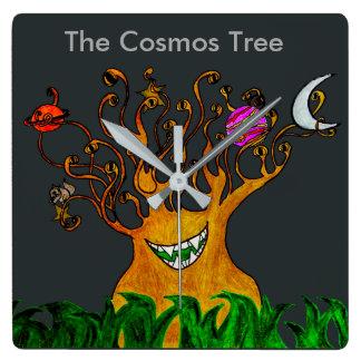 Cosmos Tree Wall Clock