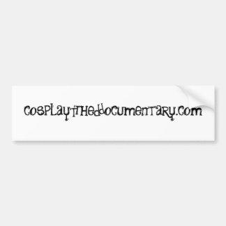 Cosplay : L'adhésif pour pare-chocs officiel docum Autocollant De Voiture