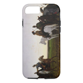 Cossacks on Horseback, 1874 (oil on canvas) iPhone 7 Case