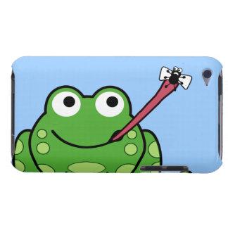 Cosse de grenouille et de mouche coque iPod touch