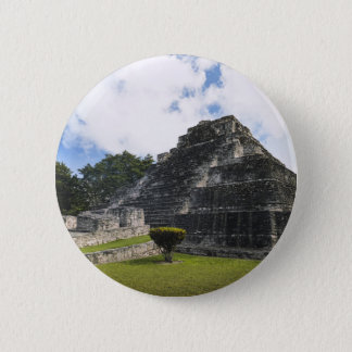 Costa Maya Chacchoben Mayan Ruins 2 Inch Round Button