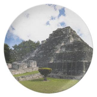 Costa Maya Chacchoben Mayan Ruins Dinner Plates