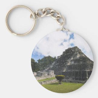 Costa Maya Chacchoben Mayan Ruins Keychain