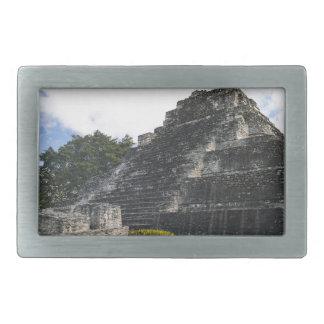 Costa Maya Chacchoben Mayan Ruins Rectangular Belt Buckles