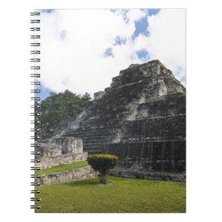 Costa Maya Chacchoben Mayan Ruins Spiral Notebook