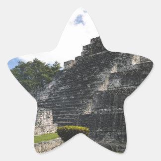 Costa Maya Chacchoben Mayan Ruins Star Sticker