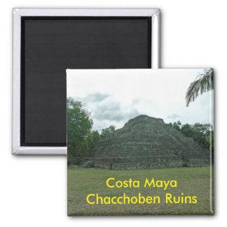 Costa Maya Chacchoben Ruins, Mexixo Magnet