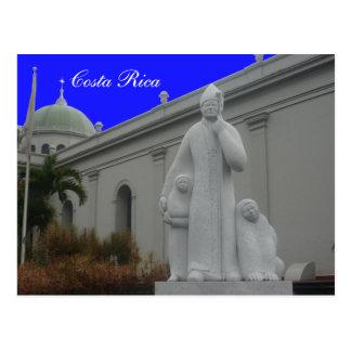 costa priest postcard