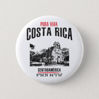 Costa Rica 2 Inch Round Button