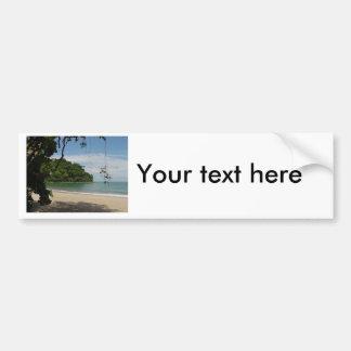 Costa Rica Beach Paradise Bumper Sticker