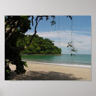 Costa Rica Beach Paradise Poster