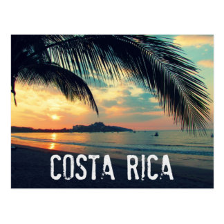 Costa Rica Beach Postcard