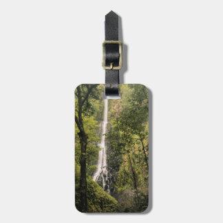 Costa Rica, Cocos Island, Wafer Bay Waterfall Luggage Tag