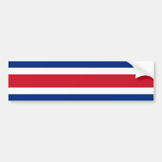 Costa Rica, Costa Rica flag Bumper Sticker