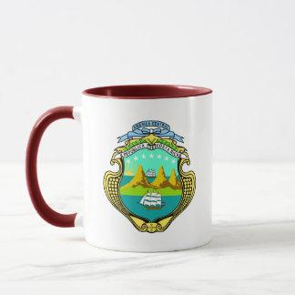 costa rica emblem mug