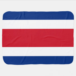 Costa Rica Flag Baby Blanket