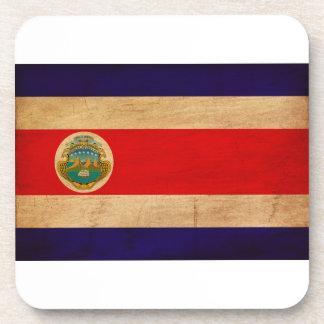 Costa Rica Flag Beverage Coasters