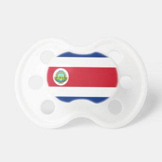 Costa Rica Flag Booginhead Pacifier