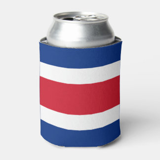 Costa Rica Flag Can Cooler