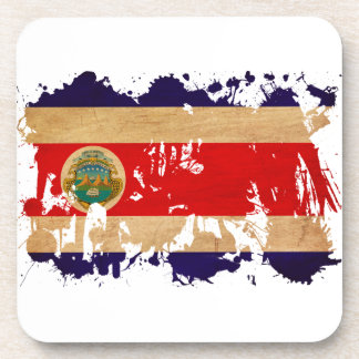 Costa Rica Flag Coaster