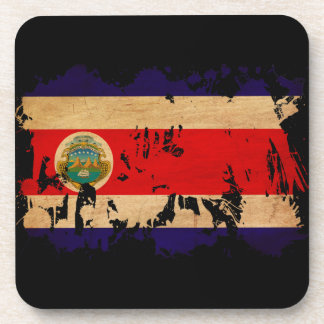 Costa Rica Flag Coasters