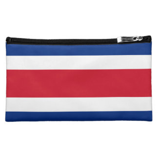 Costa Rica Flag Cosmetic Bag