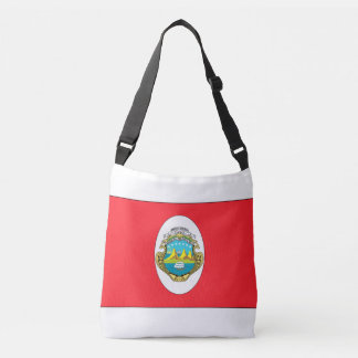 Costa Rica Flag Crossbody Bag