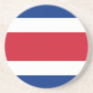 Costa Rica Flag Drink Coasters
