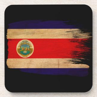 Costa Rica Flag Drink Coasters